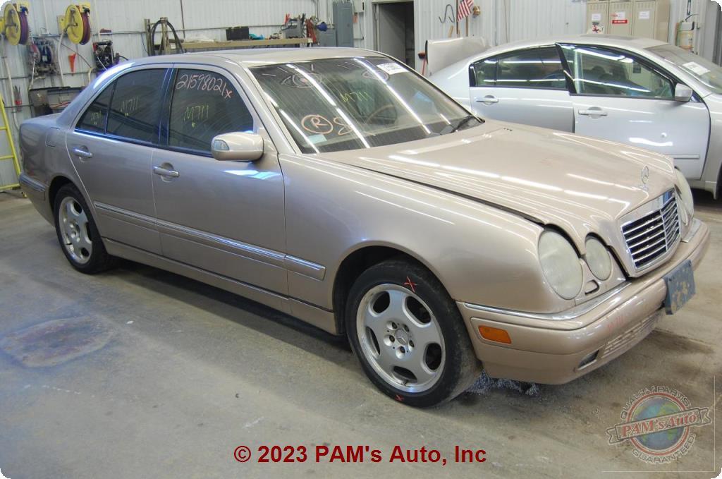 PAM's Auto, Inc  - Chassis Cont Mod : MERCEDES E-CLASS 00-02 210