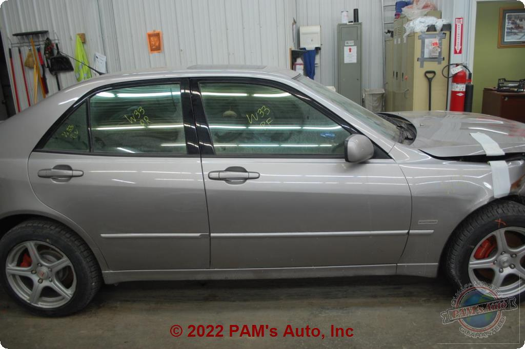 PAM's Auto, Inc  - Chassis Cont Mod : LEXUS IS300 04-05 Memory